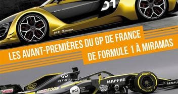 Preview of the F1 GP of France in Miramas on 05/02/2018